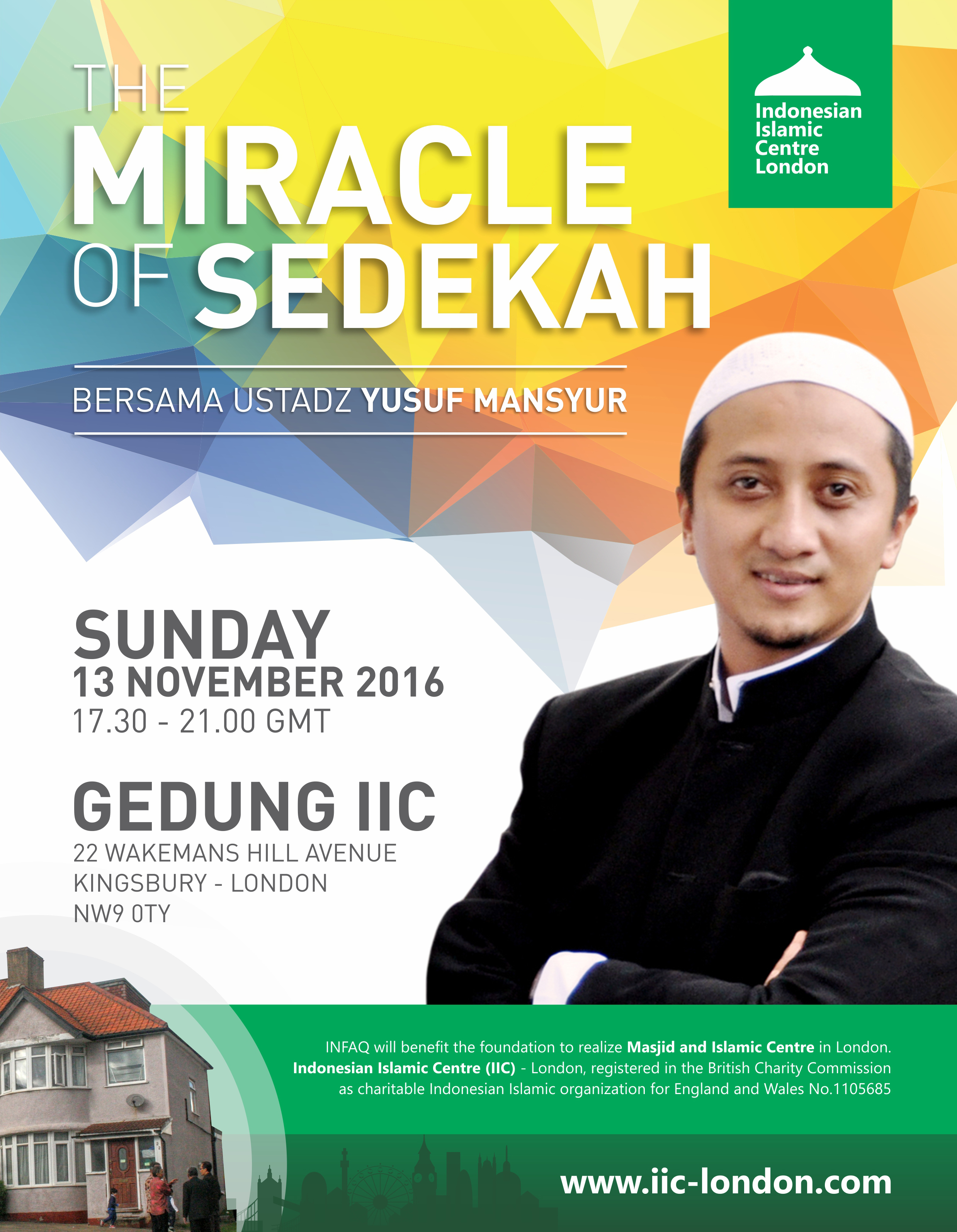The Miracle of Sedekah – with Ust. Yusuf Mansyur