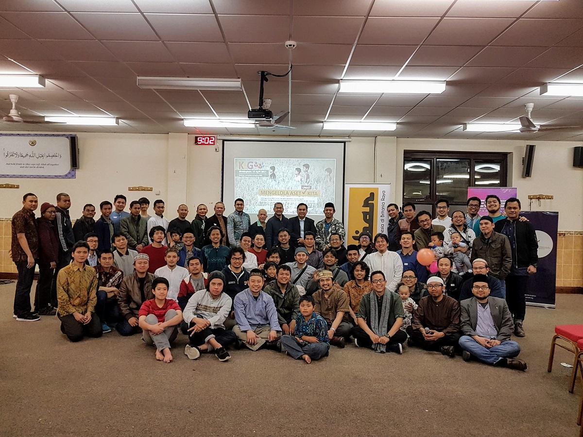 Muslim Indonesia di London galang dana masjid